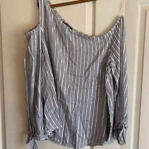 Express size large blouse